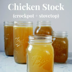 Homemade Chicken Stock Recipe | uprootfromoregon.com