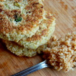 Broccoli & Cauliflower Couscous Cakes