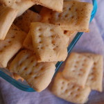 How To: Homemade Cheese Crackers