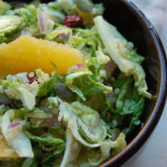 Shredded Brussel Sprout and Quinoa Salad
