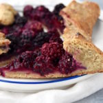 Whole Wheat Rustic Berry Galette