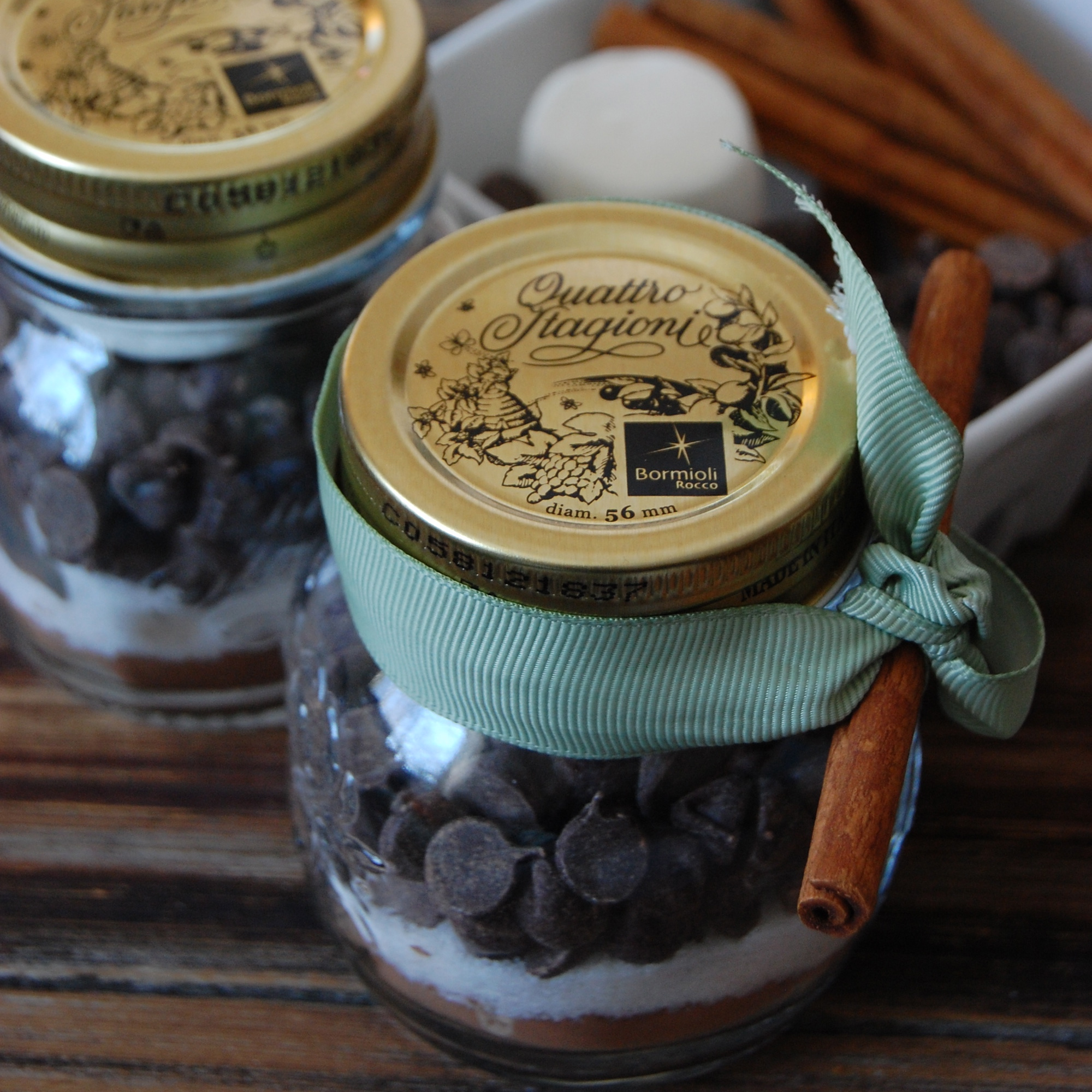 DIY Hot Cocoa Mixes- Easy Gifts!