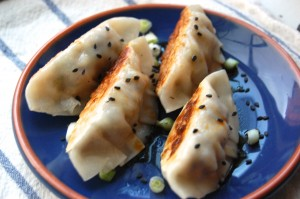 chinese vegetable potstickers