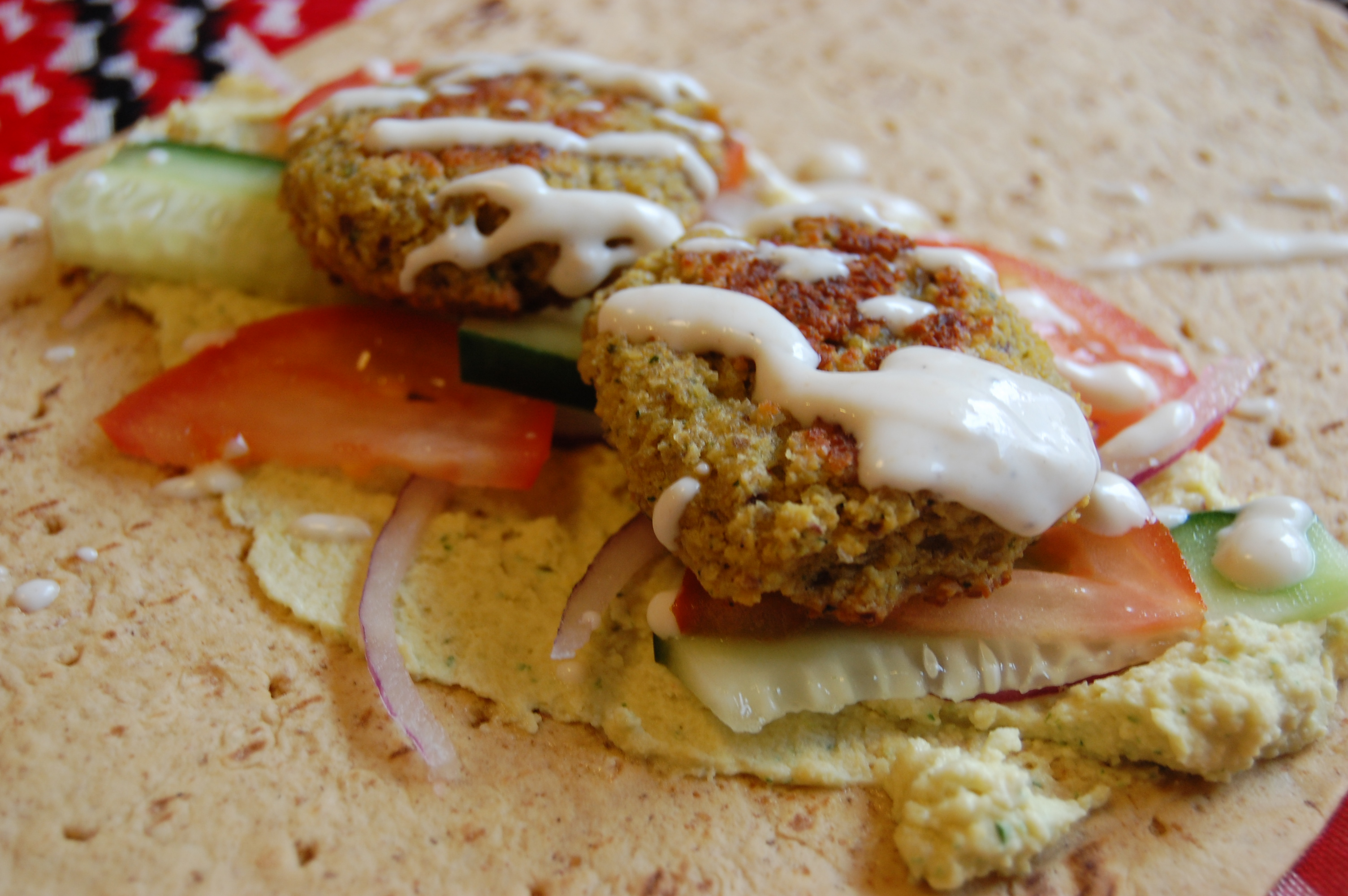 Crunchy Hummus Wraps Recipes — Dishmaps
