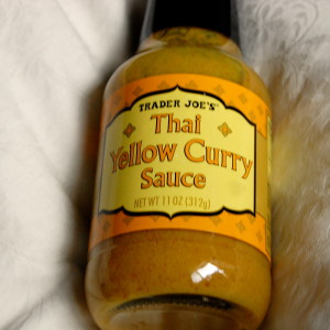 Trader Joe's Thai Yellow Curry Sauce