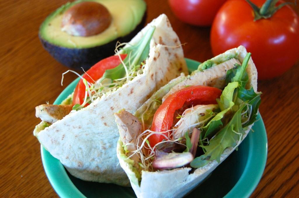California Pita Sandwiches