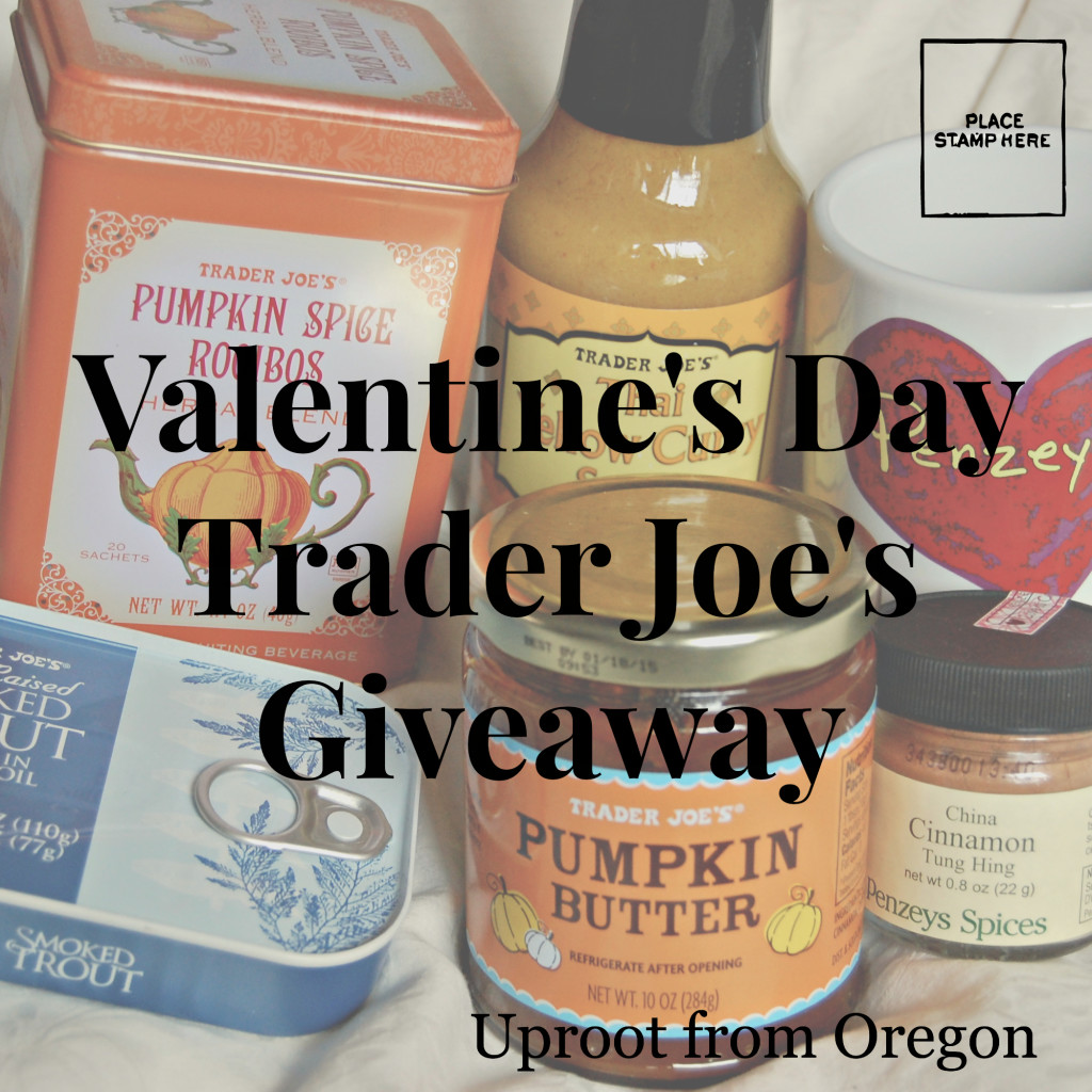 Giveaway of Trader Joe's Items for Valentine's Day