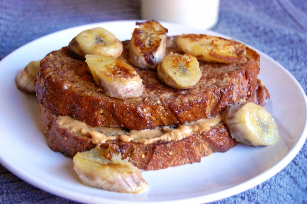 Peanut Butter Banana French Toast Recipe