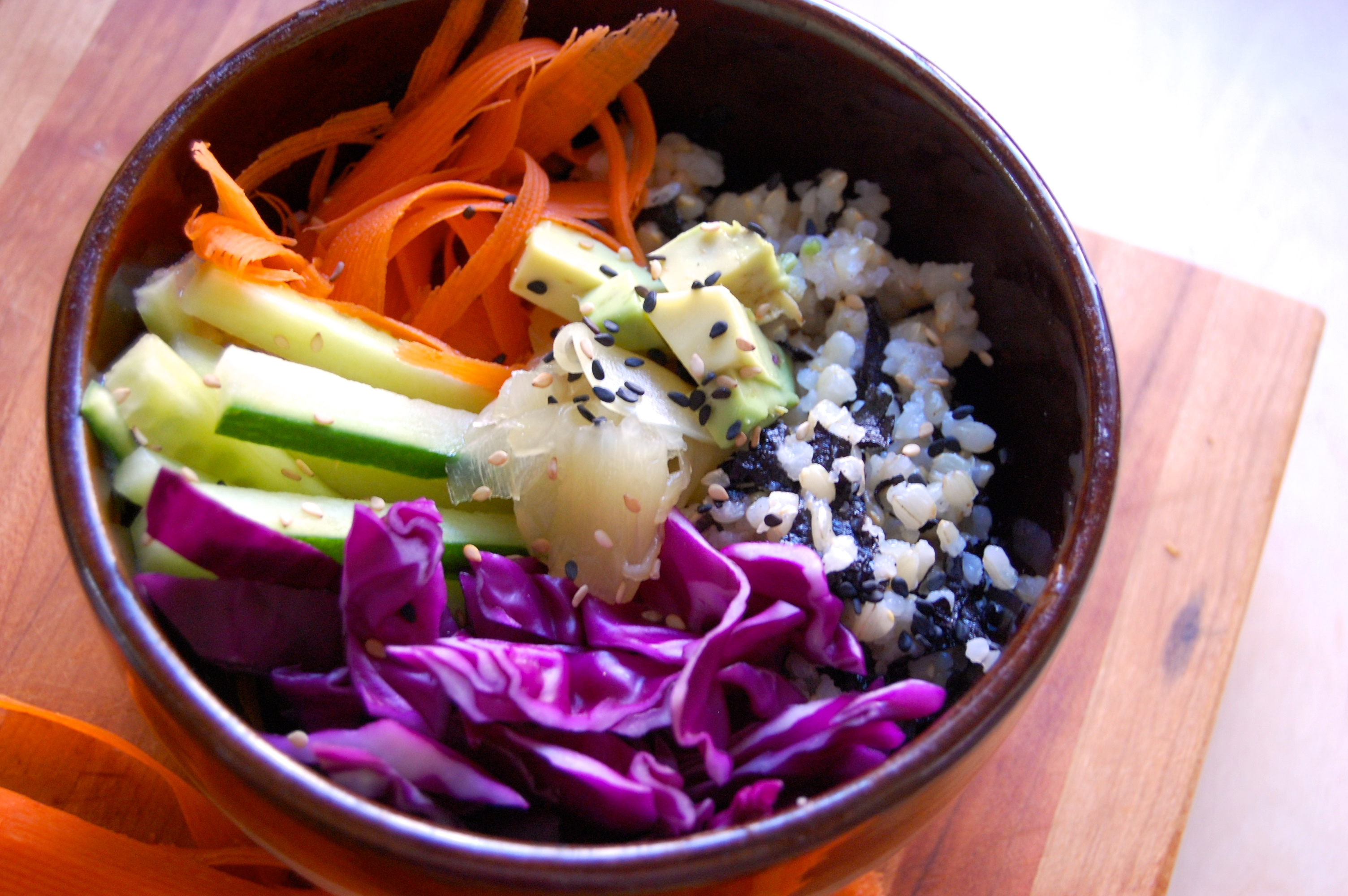 Veggie Sushi Bowls | Uproot from Oregon