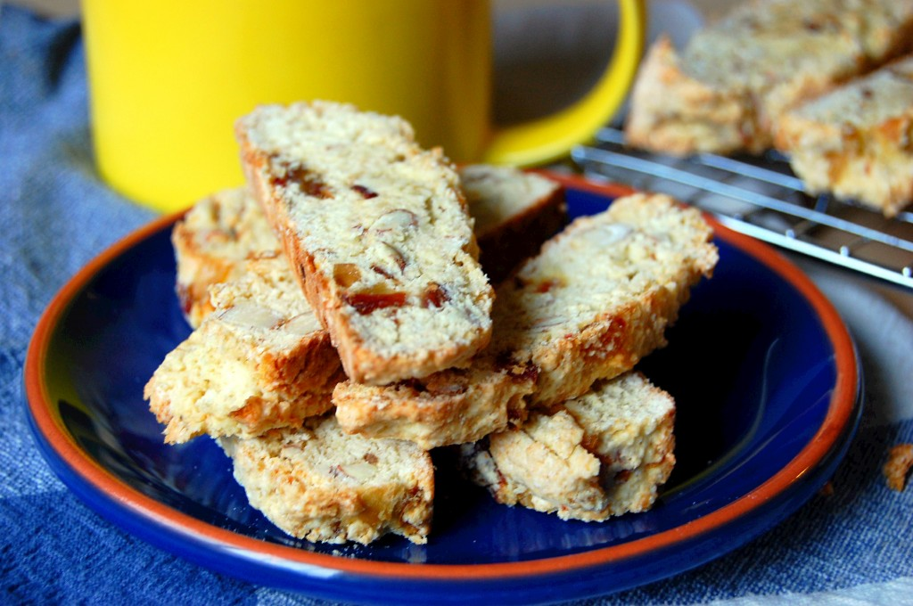 Almond and Date Biscotti