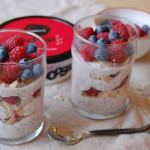 Raspberry Coconut Chia Pudding
