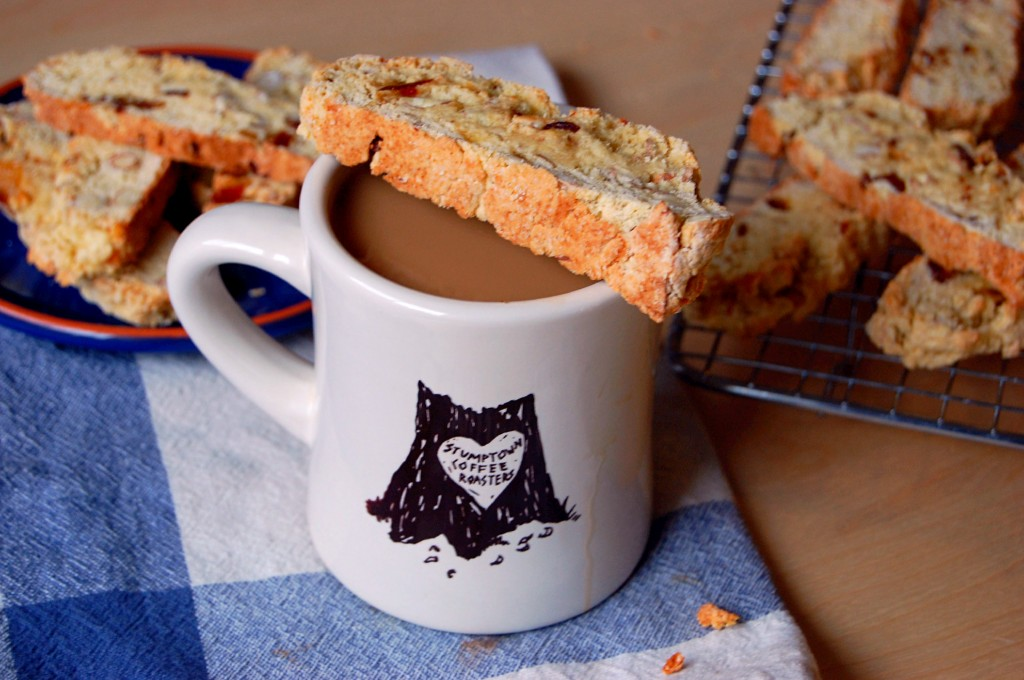 The Perfect Coffee Time Snack- Almond Date Biscotti
