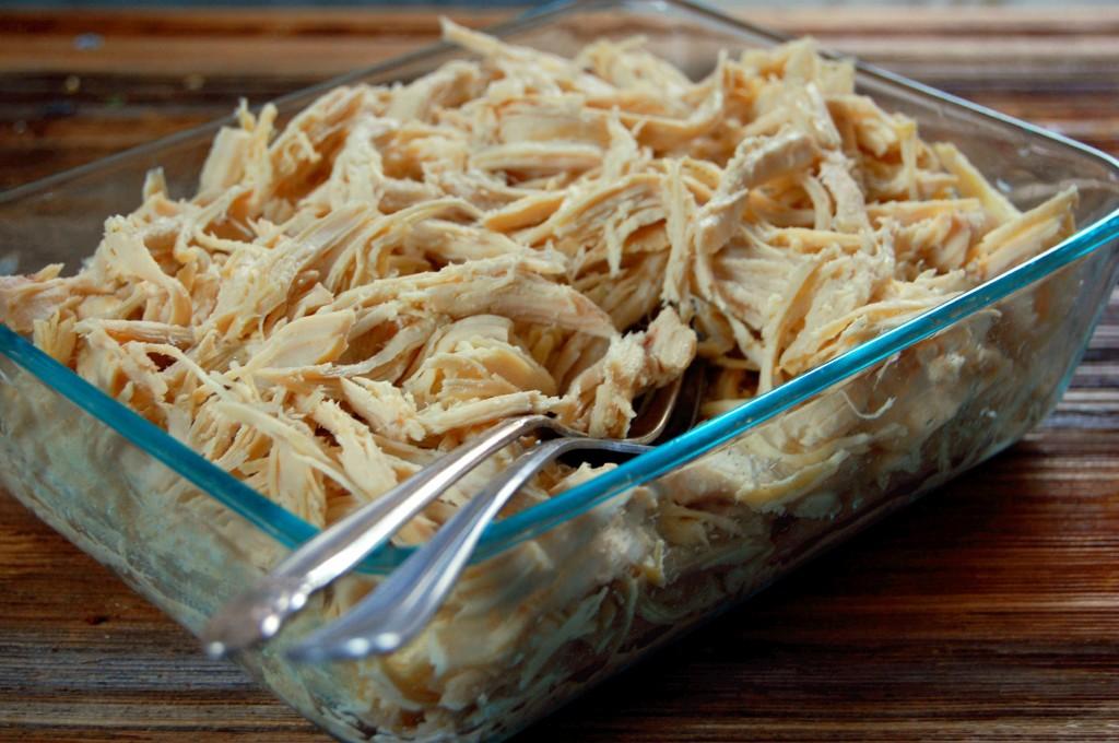 Quick and Versatile Crockpot Shredded Chicken