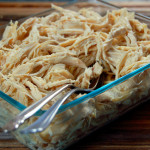 Quick and Versatile Crockpot Shredded Chicken