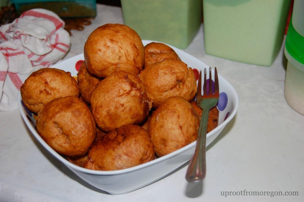Botswanan Fat Cake or Magwinya