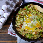 Brussel Sprout, Chicken Sausage, and Potato Breakfast Hash