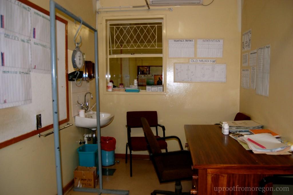 Child Welfare Room - Old Naledi Clinic Botswana