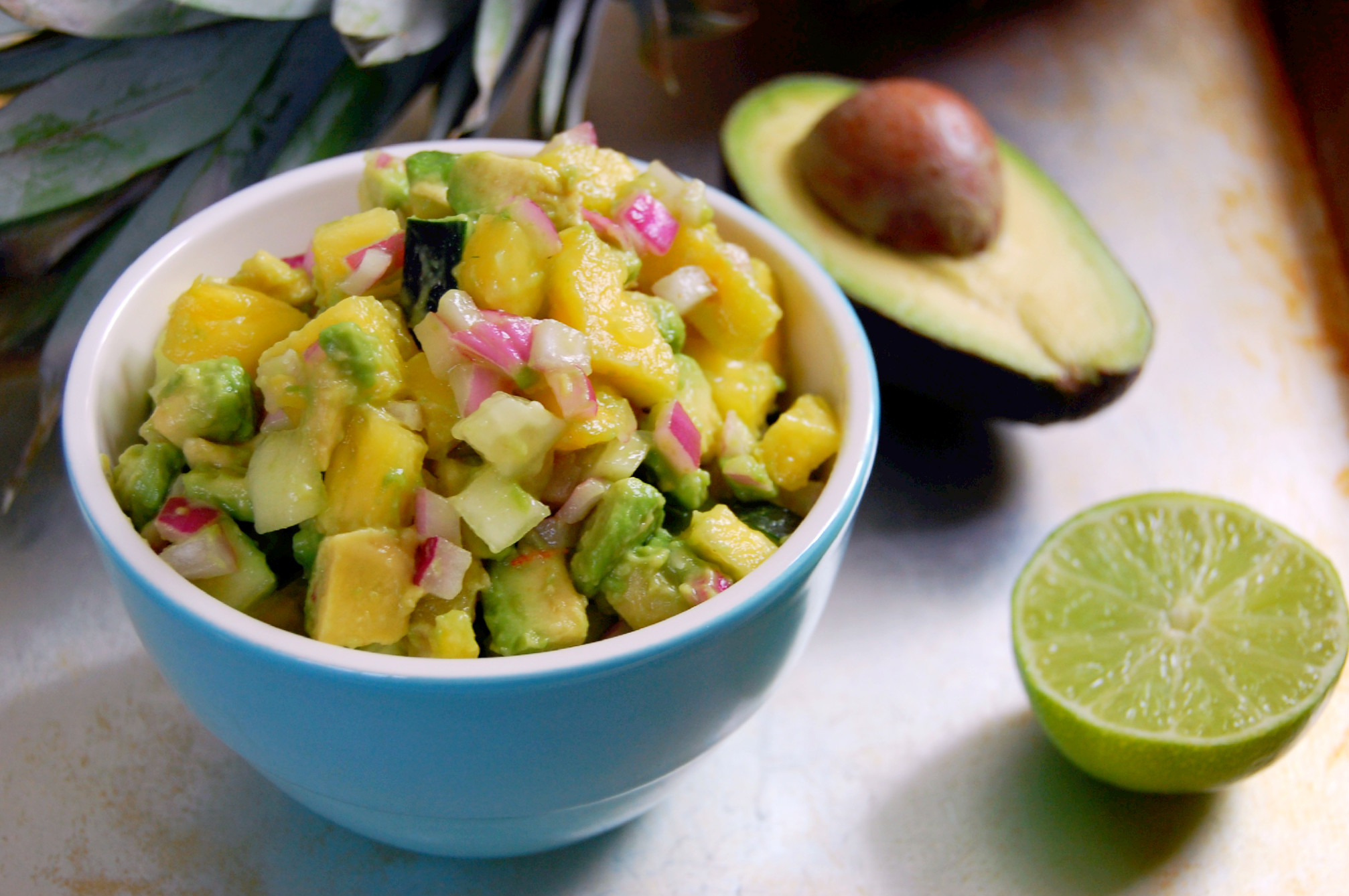 Pineapple Avocado Salsa |