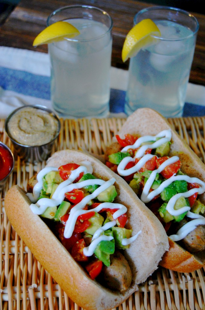 Chilean Style Hot Dog - Completo