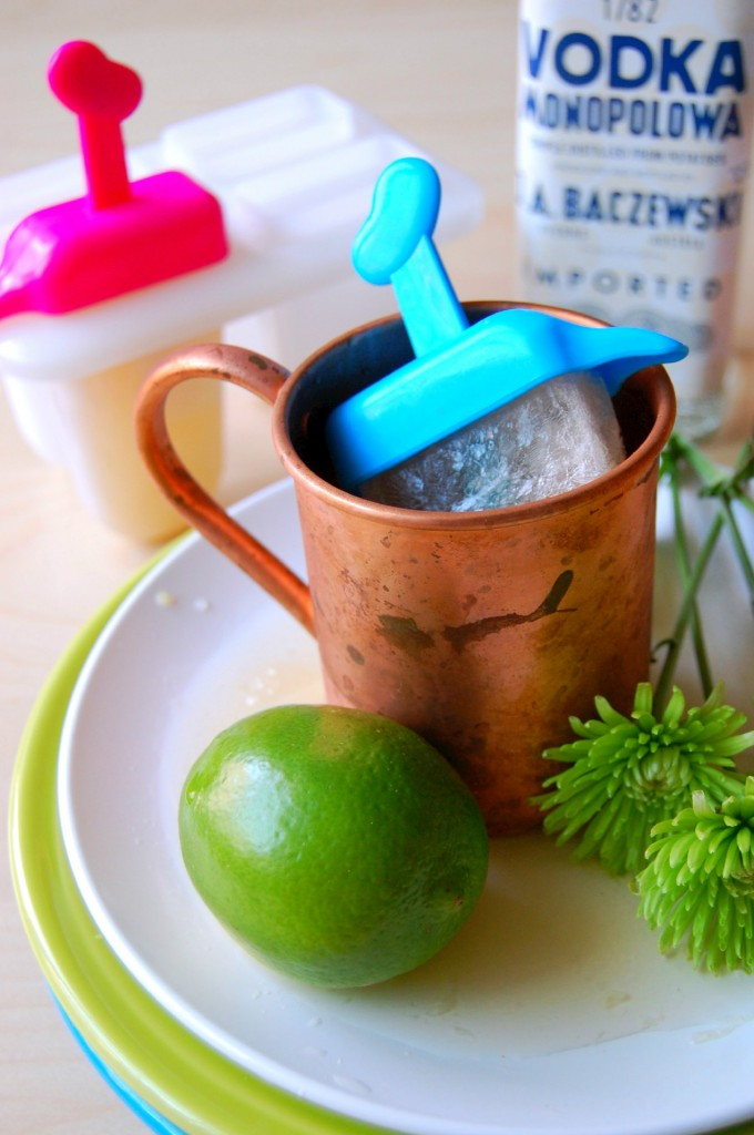 Moscow Mule Popsicles- a perfect summer treat