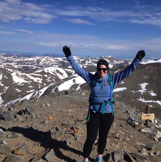 Summiting Grays Peak in Colorado