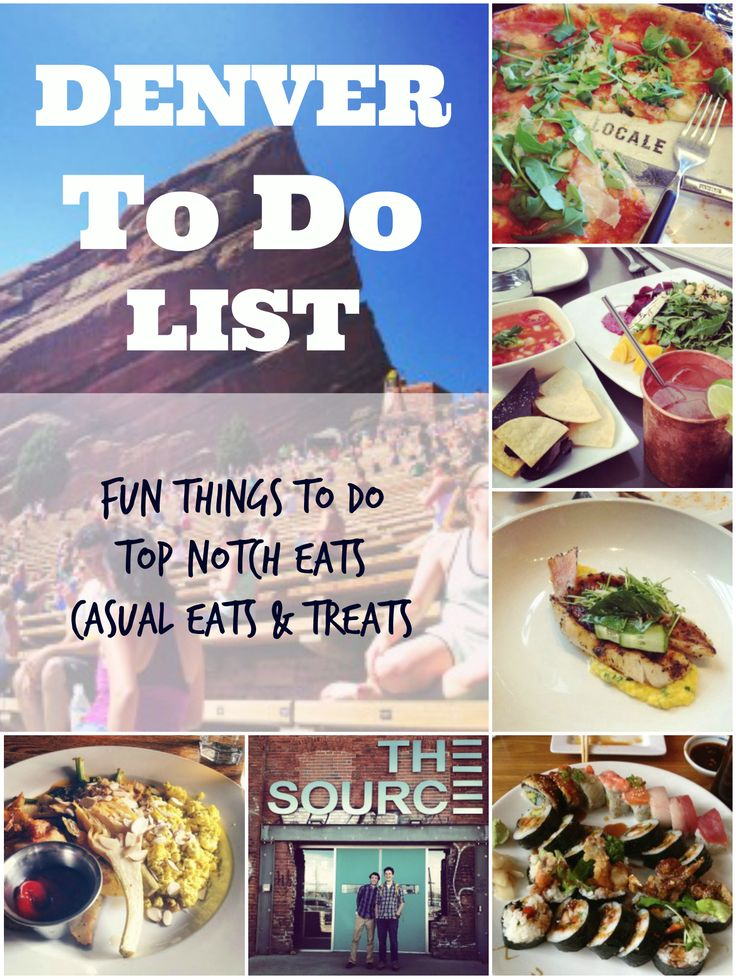 Denver To Do List - uprootfromoregon.com
