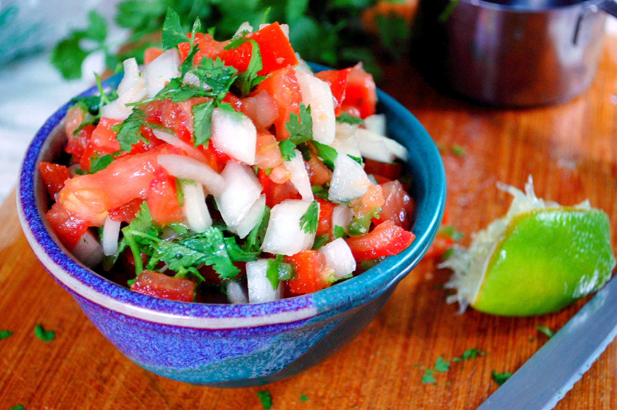 Easy Pico de Gallo - Uproot from Oregon