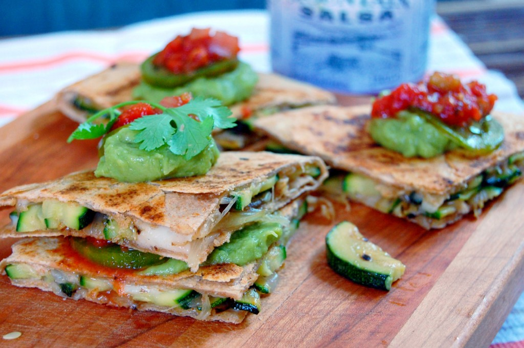 are your favorite things to stuff in quesadillas? I knew mushrooms ...