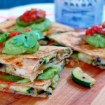 Spanish Cheese & Zucchini Quesadillas