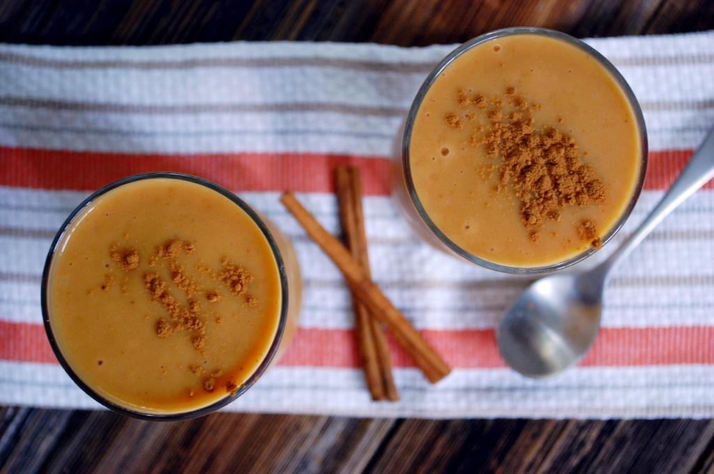 Cinnamon Pumpkin Chai Smoothie