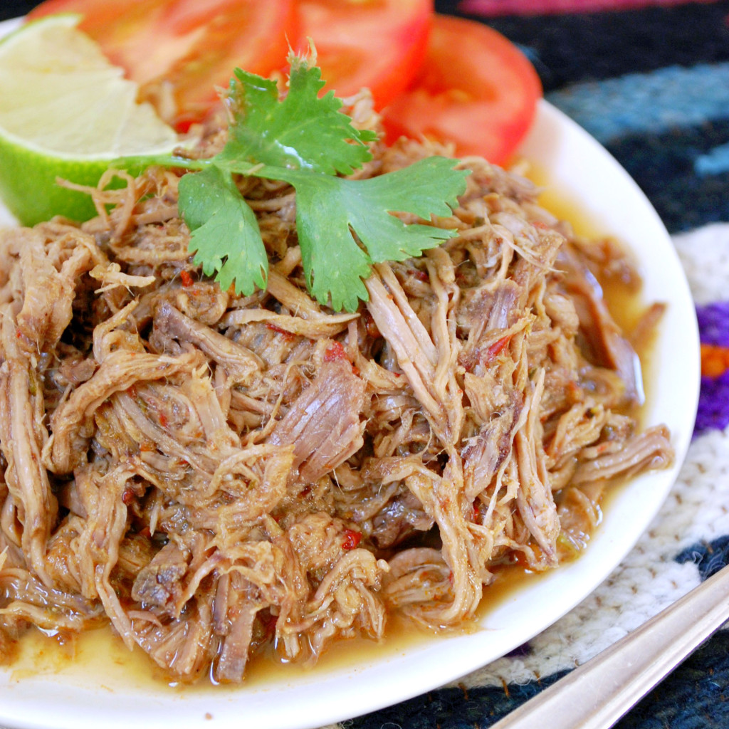 Slow Cooker Shredded Beef Barbacoa