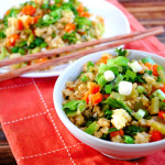 Healthy Veggie Fried Rice