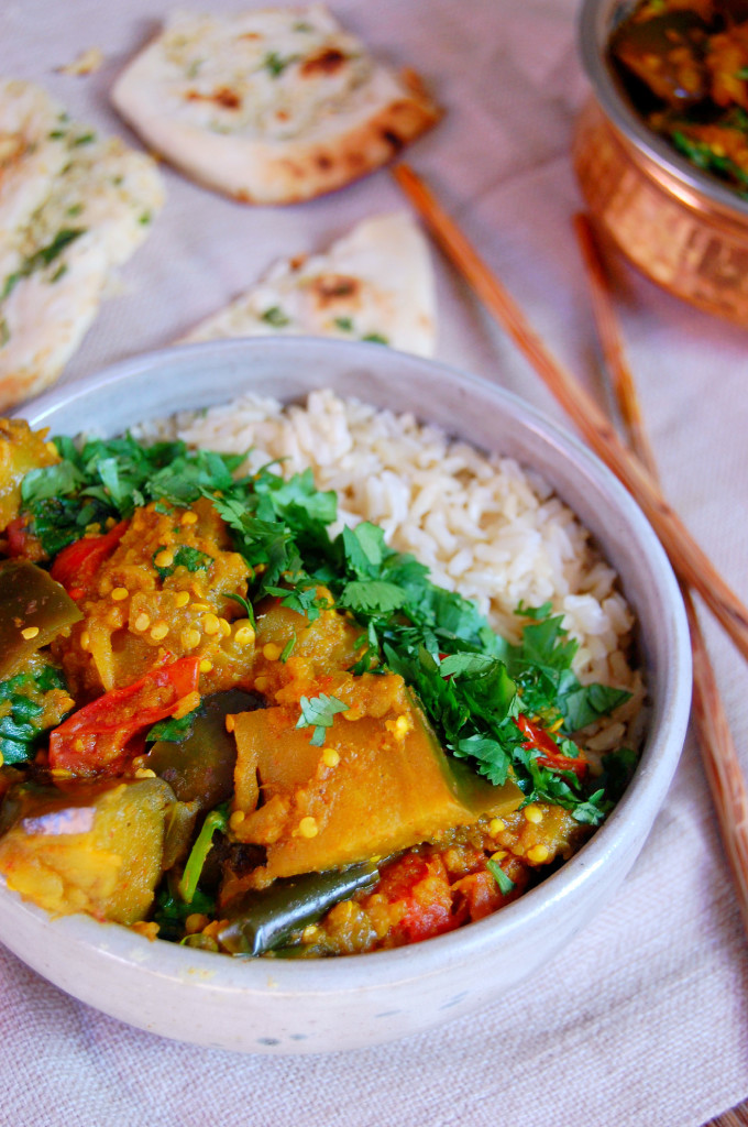 Spiced indian eggplant curry indian eggplant curry uproot from oregon forumfinder Choice Image