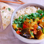 Spiced Indian Eggplant Curry