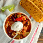 Hearty Slow Cooker Lentil Chili