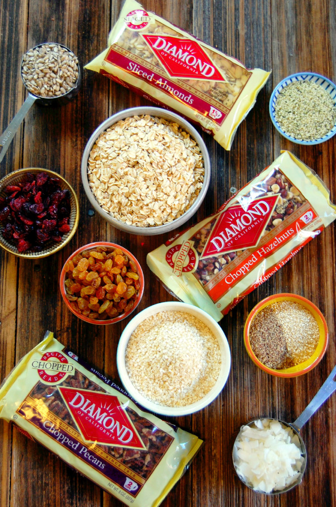 Breakfast Muesli Ingredients | Uproot from Oregon