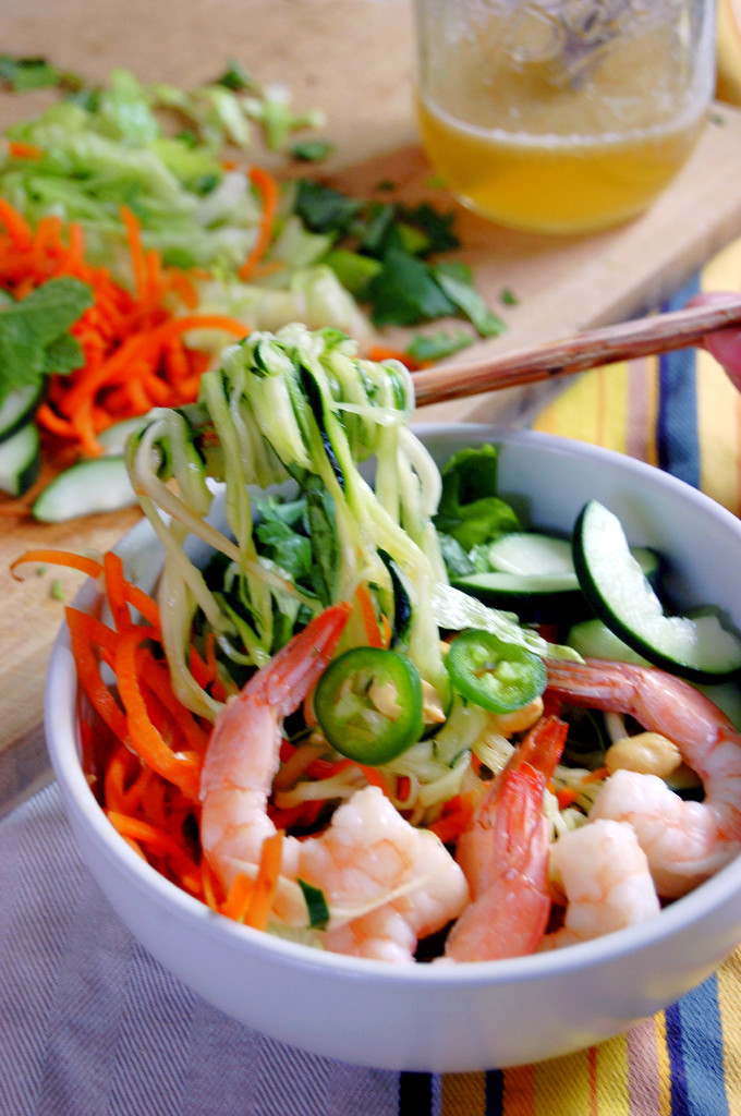 Vietnamese Zucchini Noodle Bowl | Uproot from Oregon