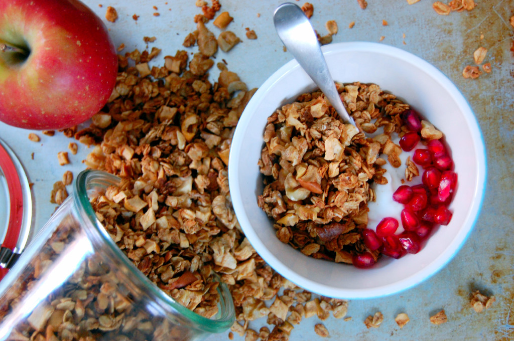 Apple Pie Granola | Uproot from Oregon