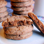 Chewy Spiced Molasses Cookies