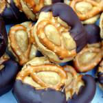 Chocolate Peanut Butter Protein Pretzel Bites