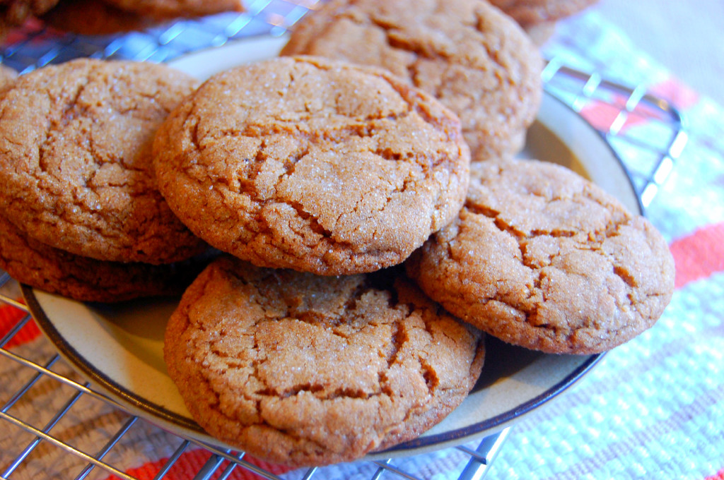 Perfectly Crackled and Chewy Spiced Molasses Cookies | Uproot from Oregon