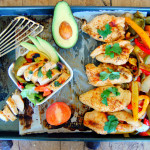 Baked Chicken Fajitas with Smoked Paprika