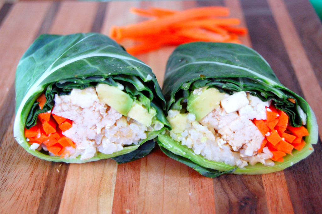 Collard Green Sushi Wraps | Uproot from Oregon