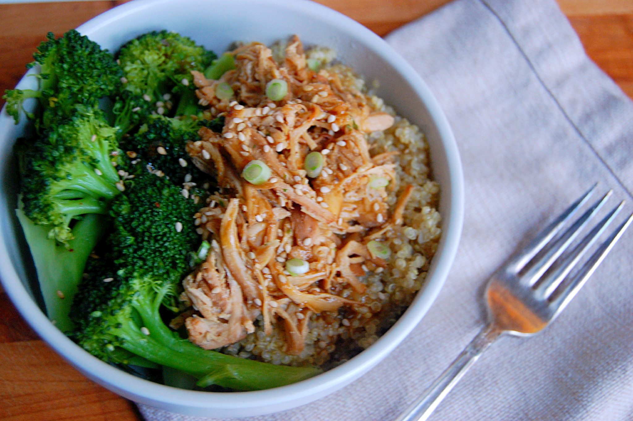 Crockpot Honey Soy Chicken With Sesame Seeds Green Onions Uproot From Oregon