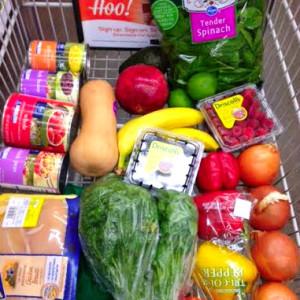 Food Prep - Fresh Ingredients For The Week