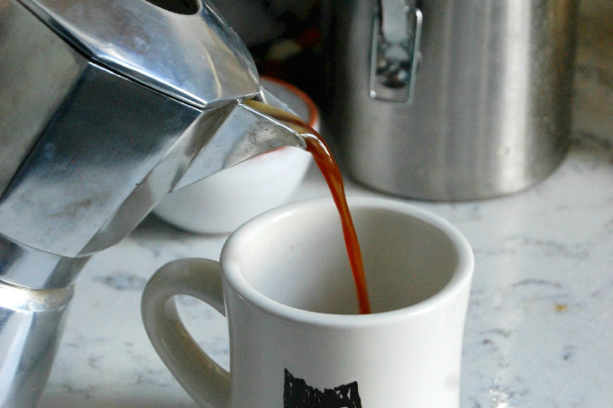 How To Make Simple Stovetop Espresso Coffee | uprootfromoregon.com