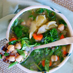 Mediterranean Quinoa Soup