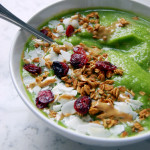 Tropical Kale Smoothie Bowl