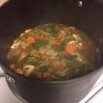 Lara Kale Tortellini Soup