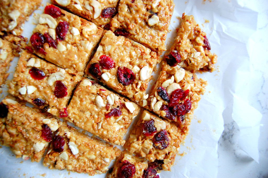 Simple Cranberry Cashew Bars (No Bake!) | Uproot from Oregon